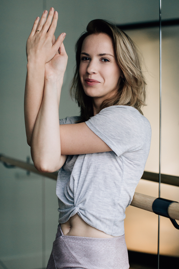 Kasia Makowiecka instruktorka ashtanga jogi.