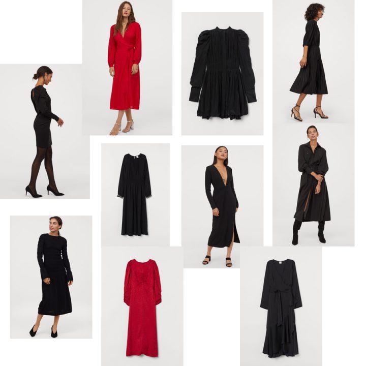10 sukienek na święta z H&M