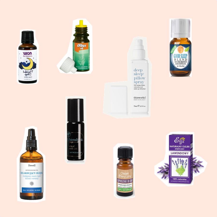 Naturalne olejki, które pomogą Ci zasnąć