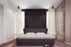 wizualizacja sypialnia