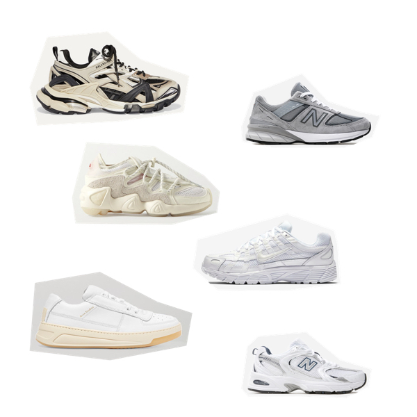 Sportowe buty: Balenciaga, New Balance, ADIDAS ORIGINALS,Nike, Acne Studios,New Balance.