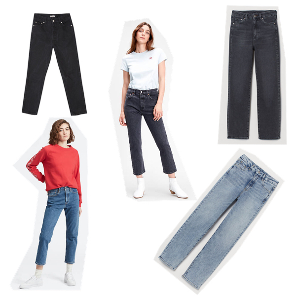 Jeansy: The Odder Side, Levis, H&M, Levis, H&M.