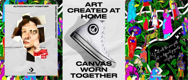 Wspólnie dla sztuki - Converse Peace