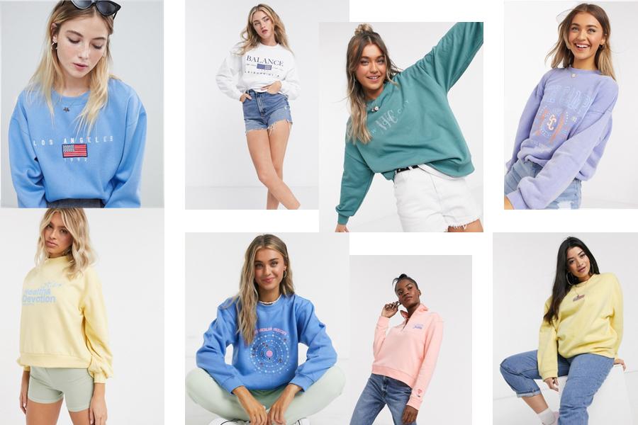 Wspomnienie lata - ciepłe i wygodne, kolorowe bluzy na jesień 2020