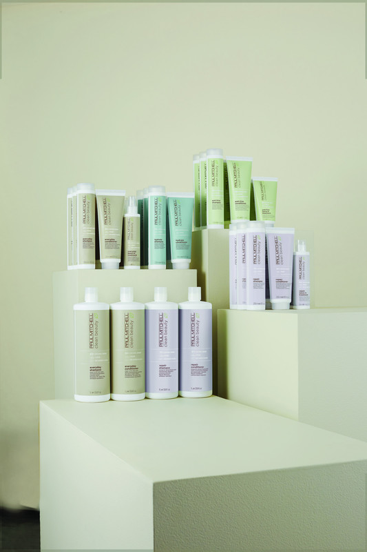 Nowa seria kosmetyków CLEAN BEAUTY od marki Paul Mitchell,czyli roślinna rewolucja w pielęgnacji włosów