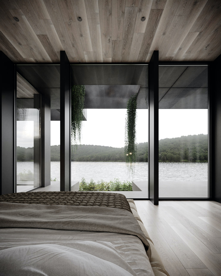 Organic Shelter, czyli magiczne siedlisko na brzegu jeziora