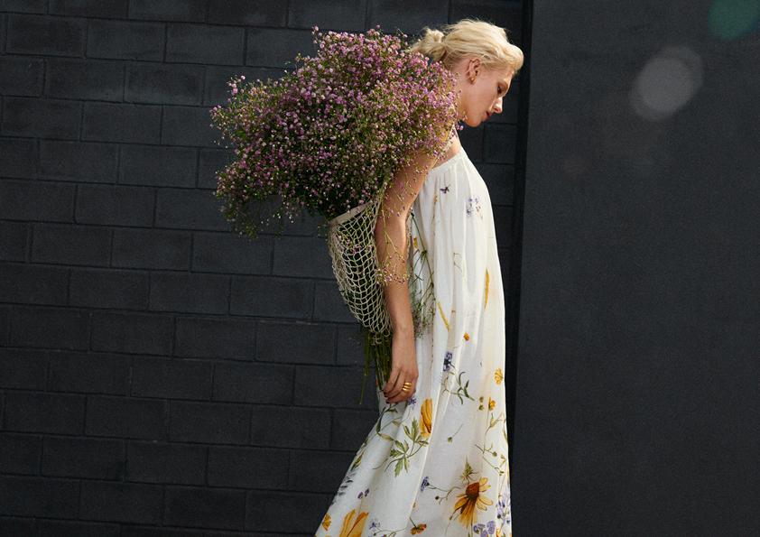 wiosene sukienki H&M