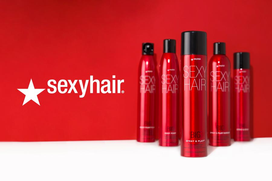 Najlepsze kosmetyki do włosów SexyHair już w Polsce!